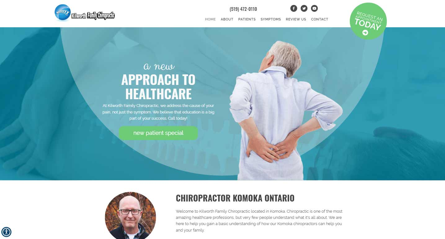 Chiropractor Komoka ON Kilworth Family Chiropractic