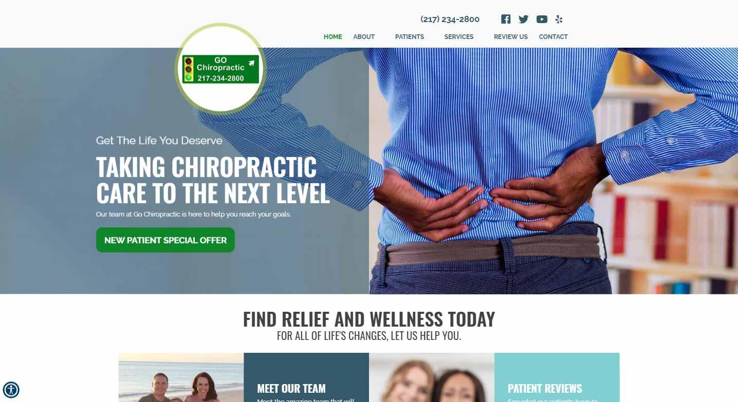 Chiropractor Mattoon IL Go Chiropractic