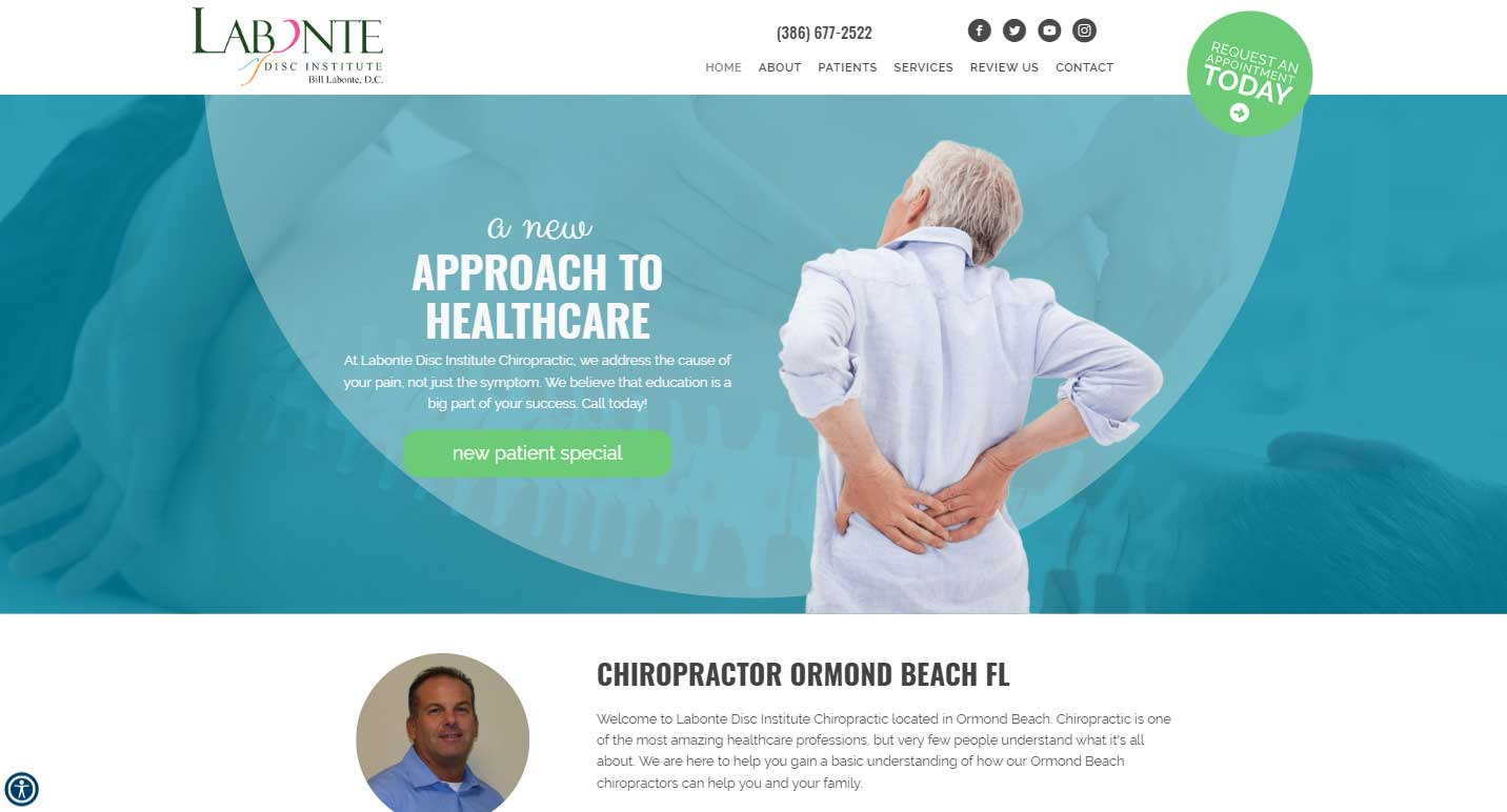 Chiropractor Ormond Beach FL Labonte Disc Institute Chiropractic