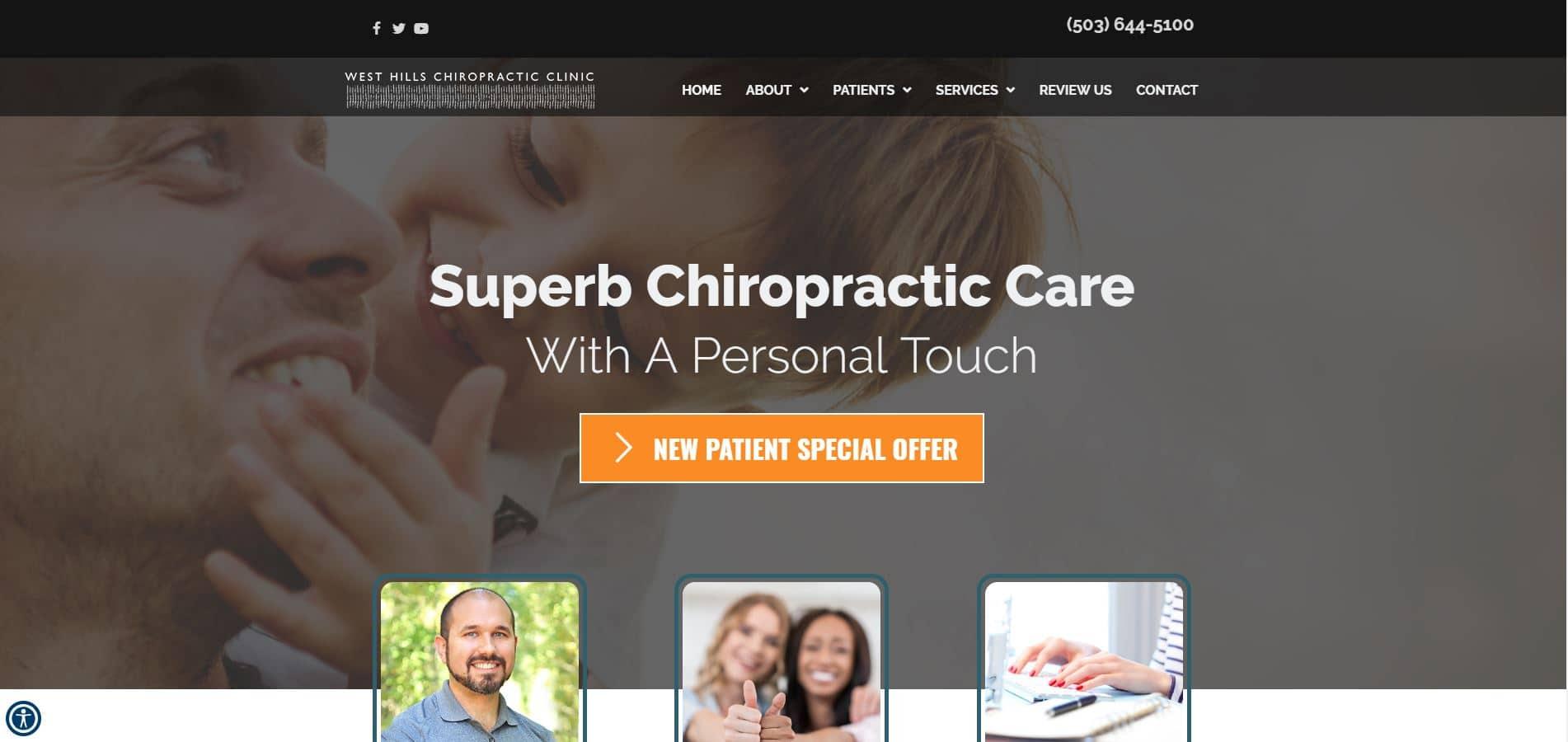 Chiropractor Portland OR West Hills Chiropractic Clinic