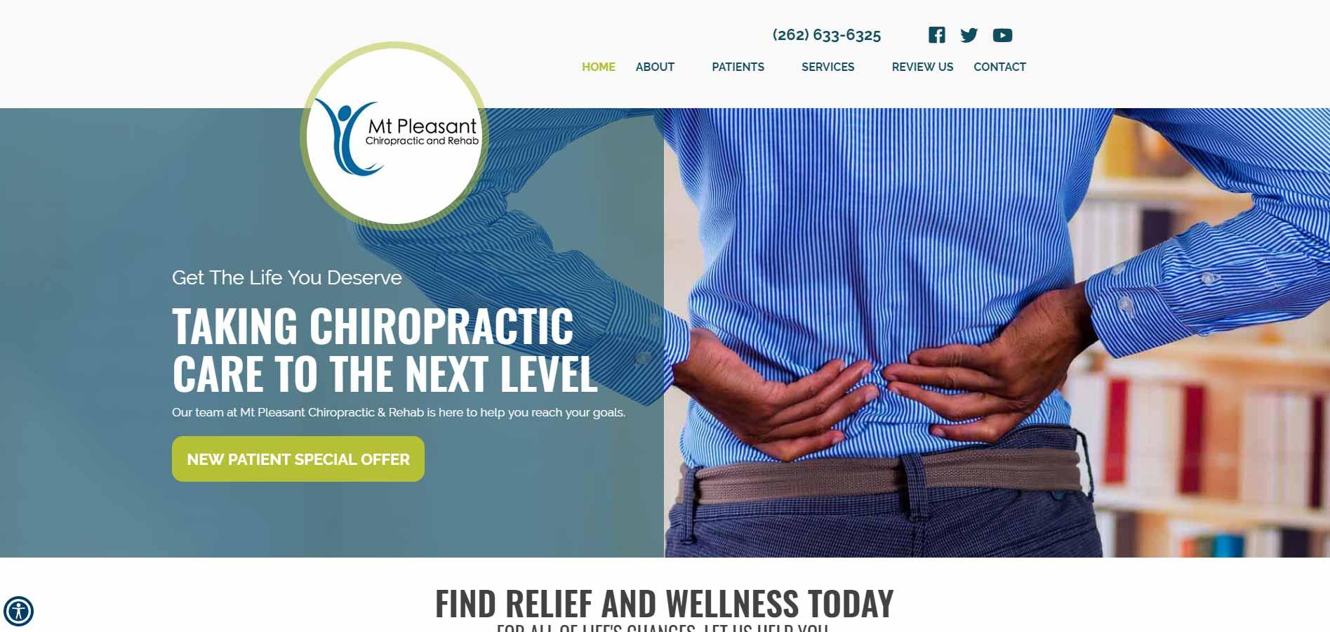 Chiropractor Racine WI Mt Pleasant Chiropractic & Rehab