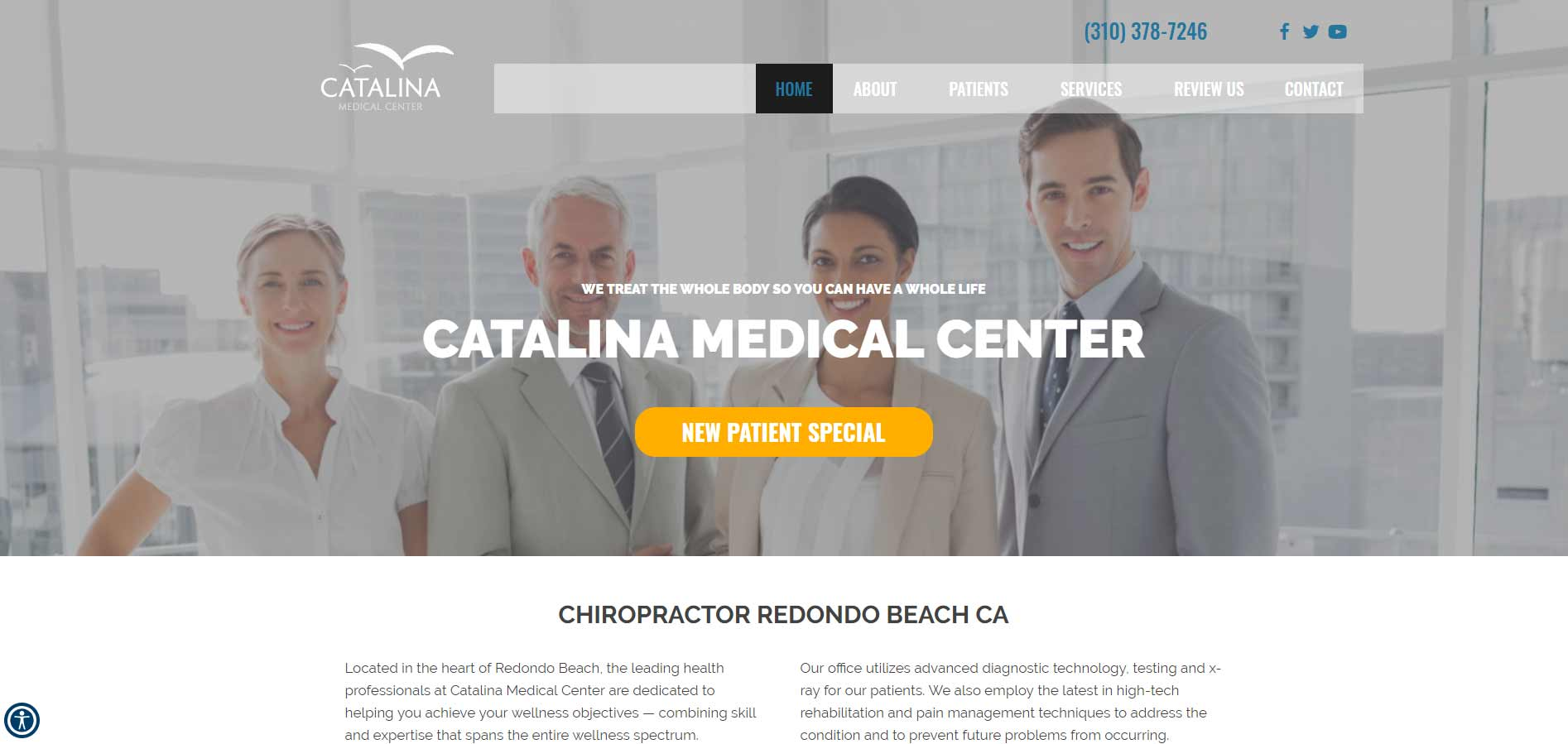 Chiropractor Redondo Beach CA Catalina Medical Center