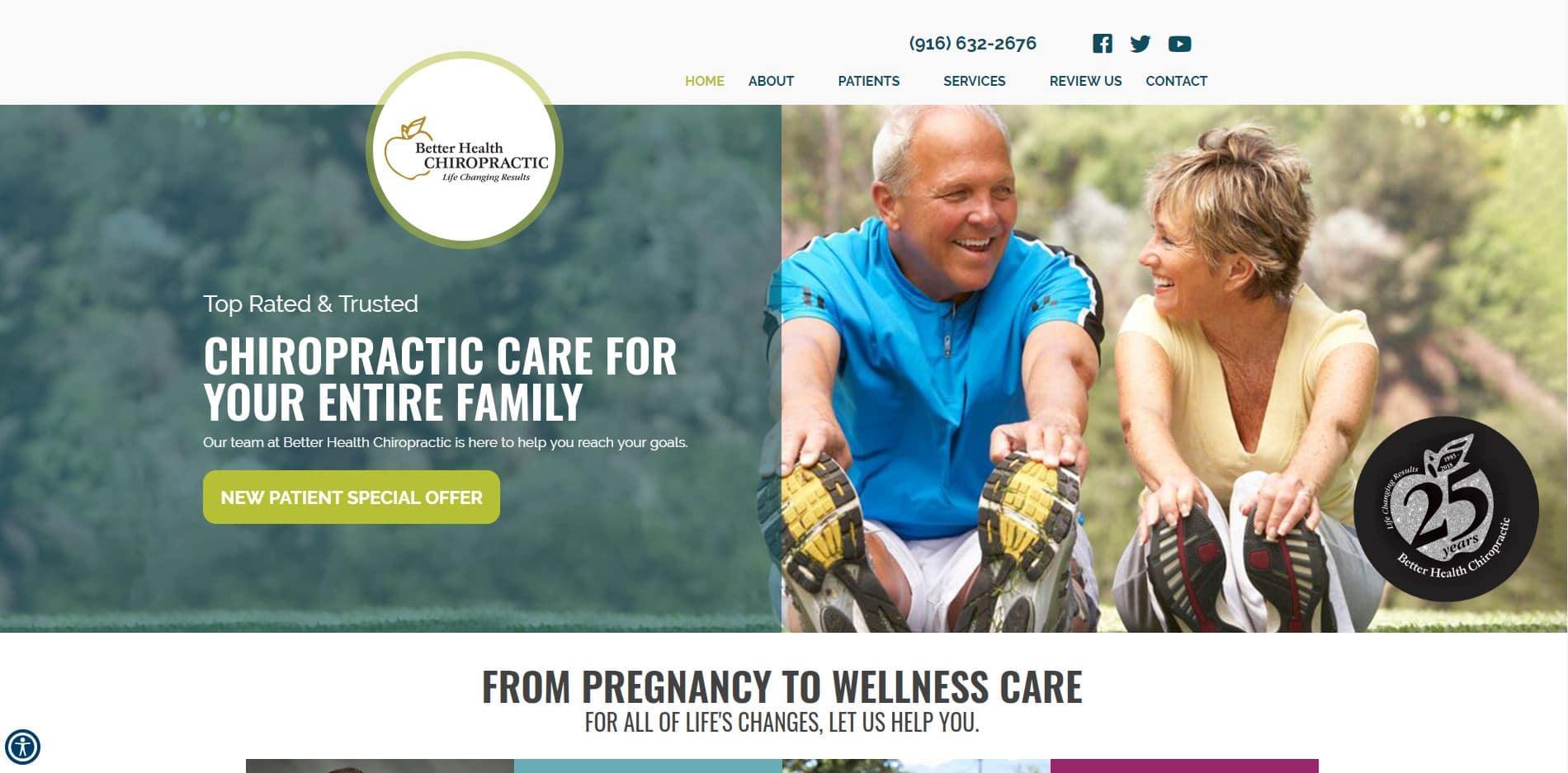 Chiropractor Rocklin CA Better Health Chiropractic