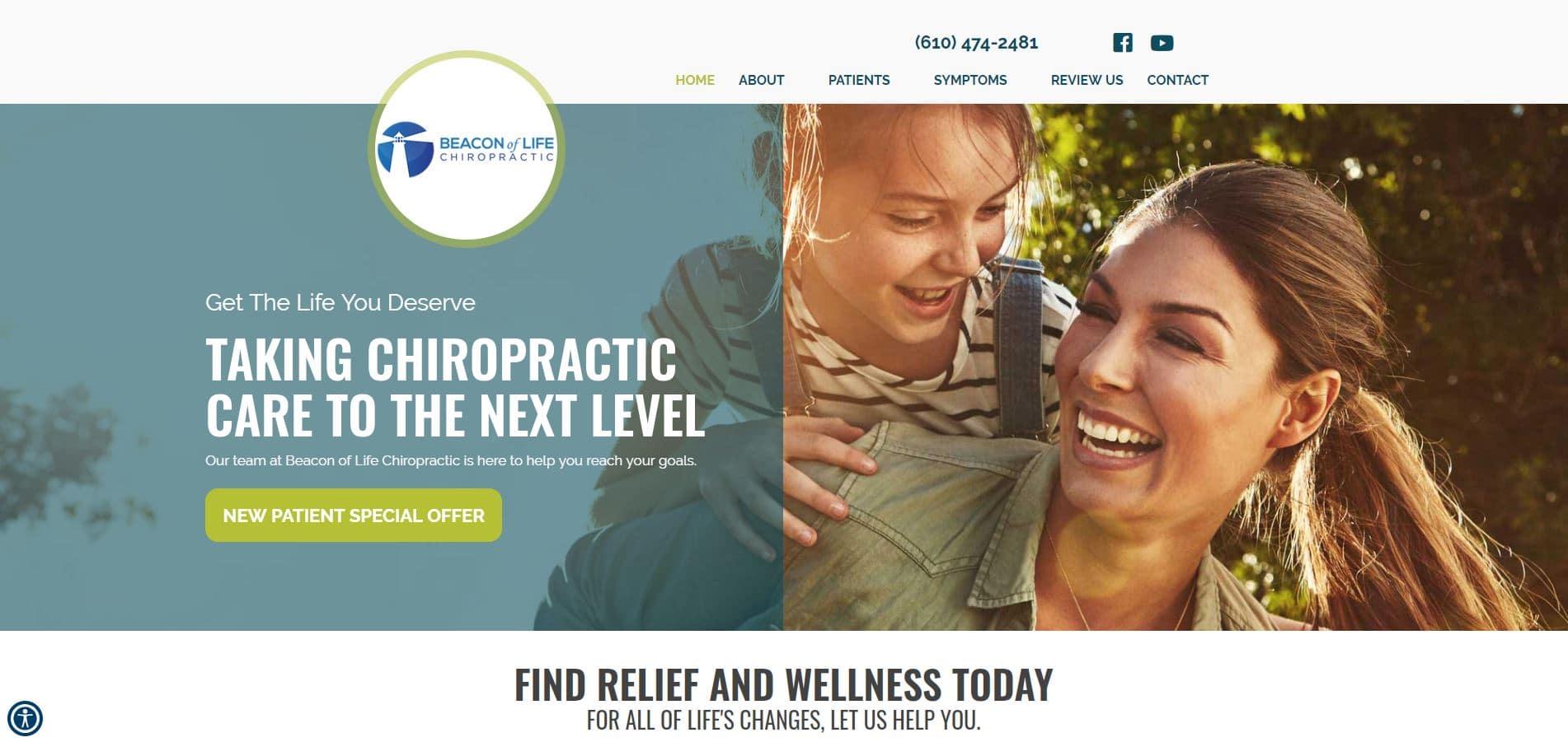 Chiropractor Royersford PA Beacon of Life Chiropractic