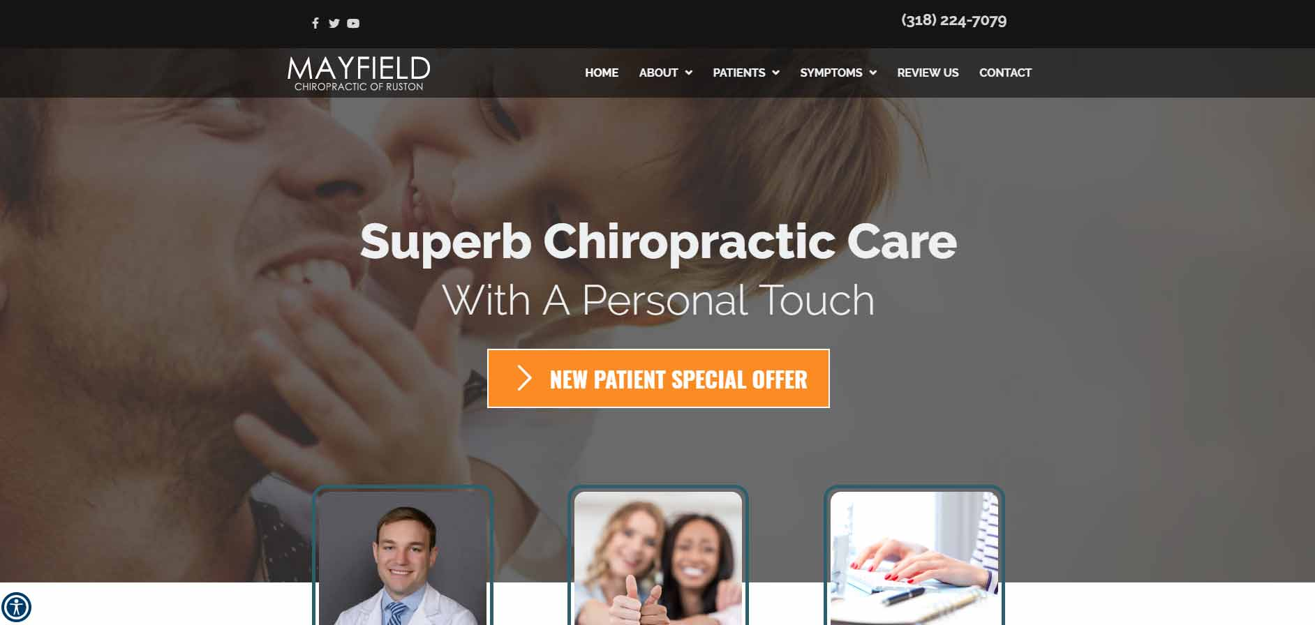 Chiropractor Ruston LA Mayfield Chiropractic of Ruston