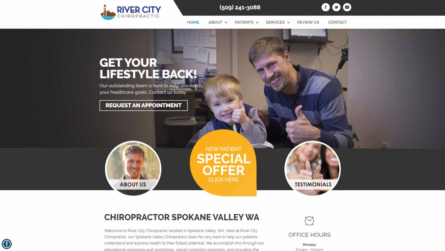 Chiropractor Spokane Valley WA River City Chiropractic