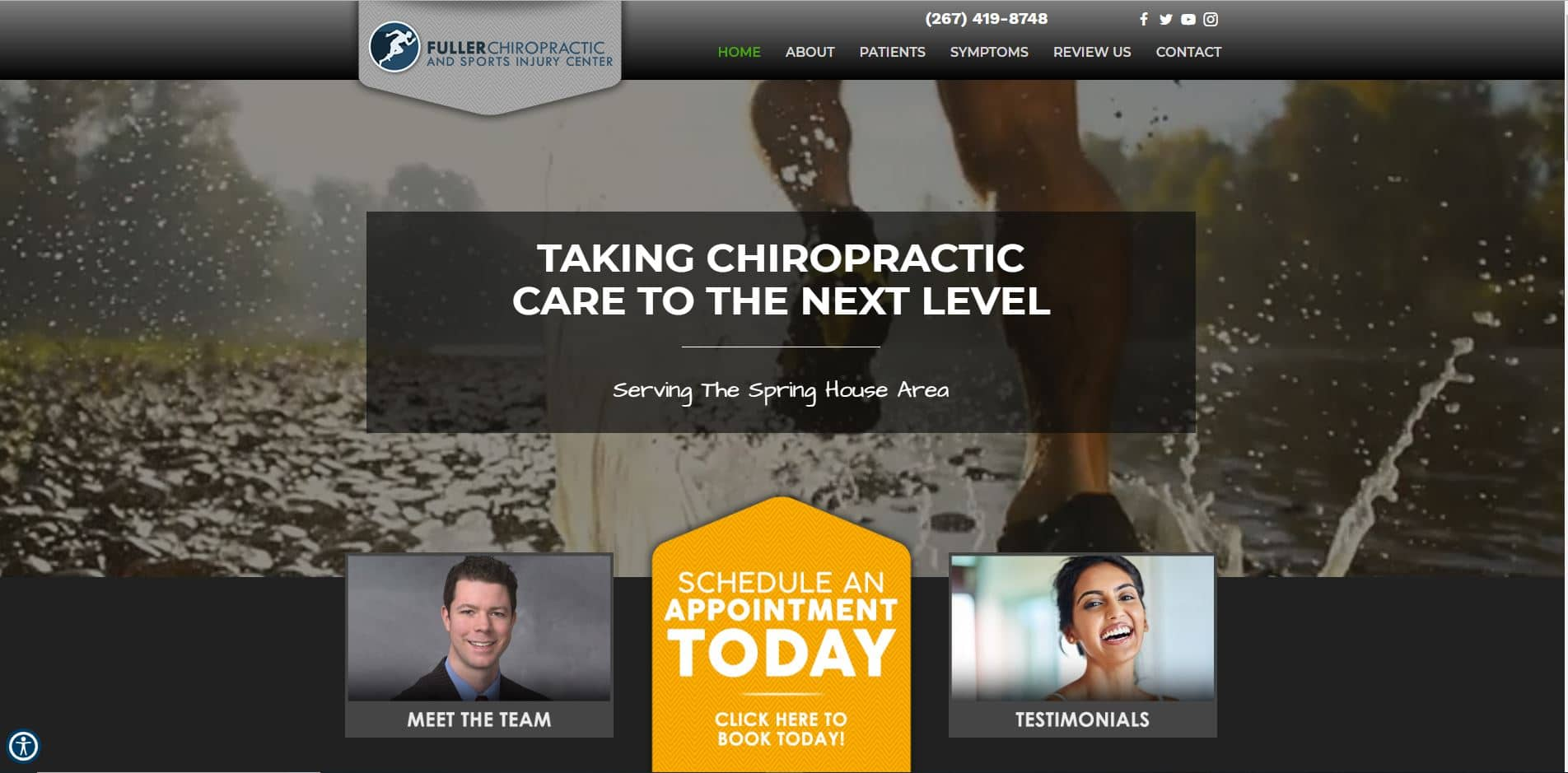 Chiropractor Spring House PA Fuller Chiropractic and Sports Injury Center