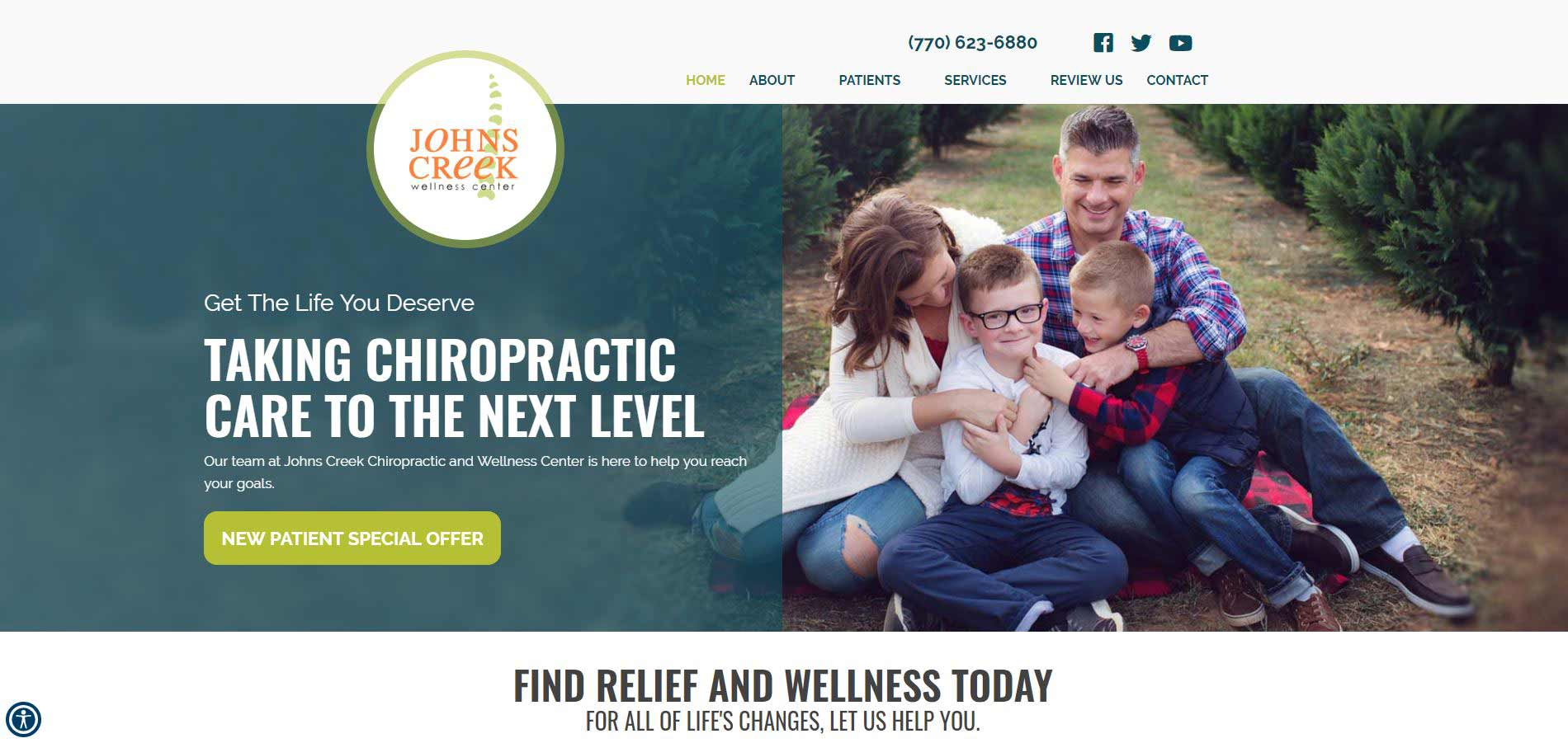 Chiropractor Suwanee GA Johns Creek Chiropractic and Wellness Center