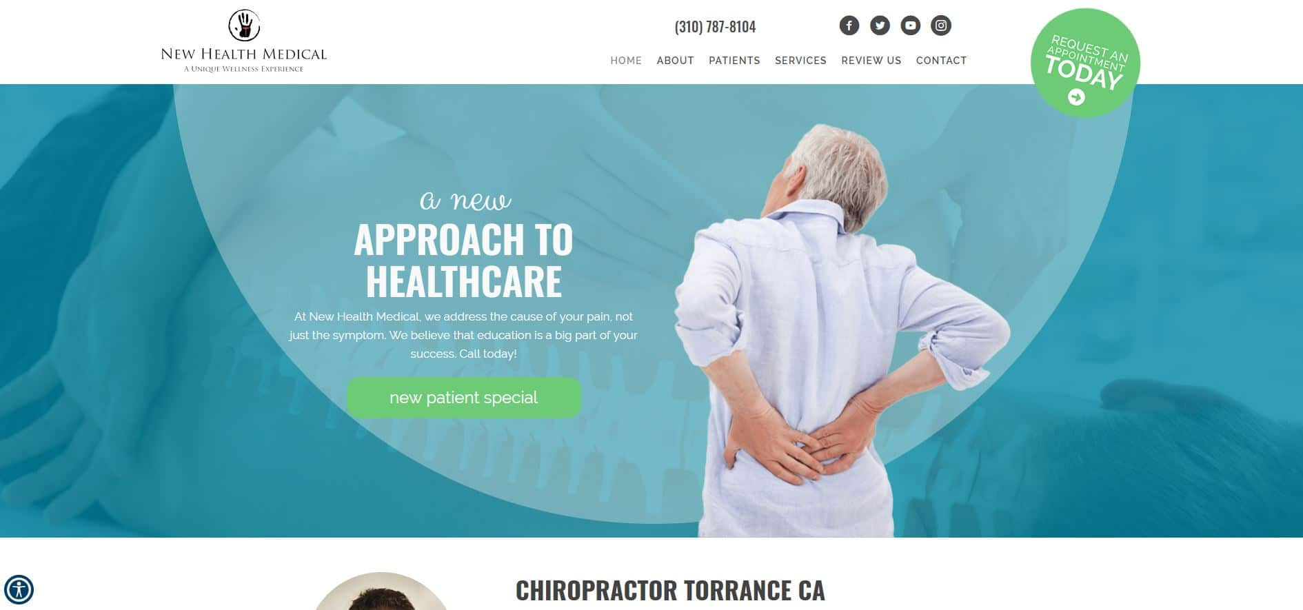 Chiropractor Torrance CA New Health Medical