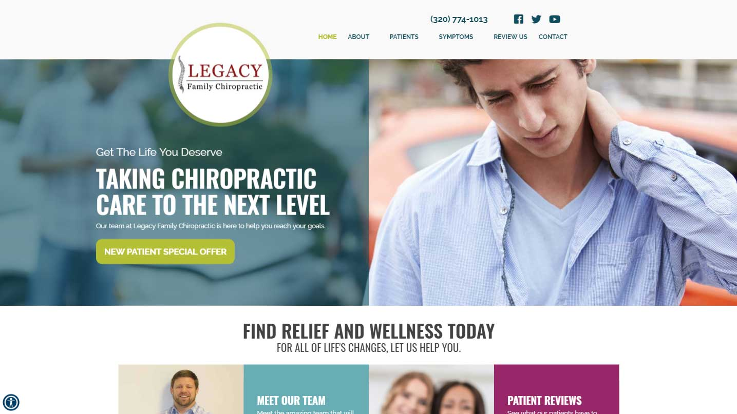 Chiropractor Waite Park MN Legacy Family Chiropractic