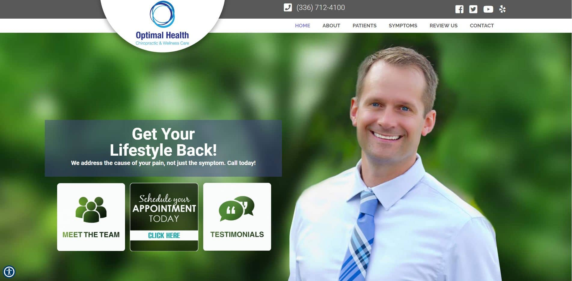 Chiropractor in Clemmons
