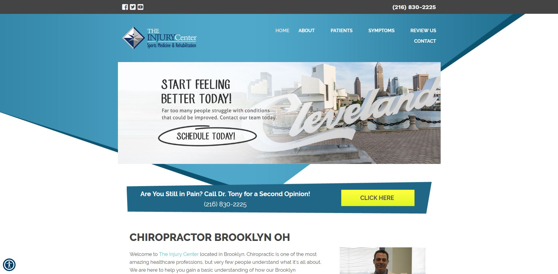 Chiropractor in Cleveland