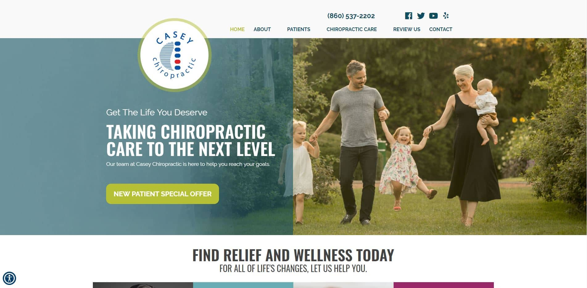 Chiropractor in Colchester