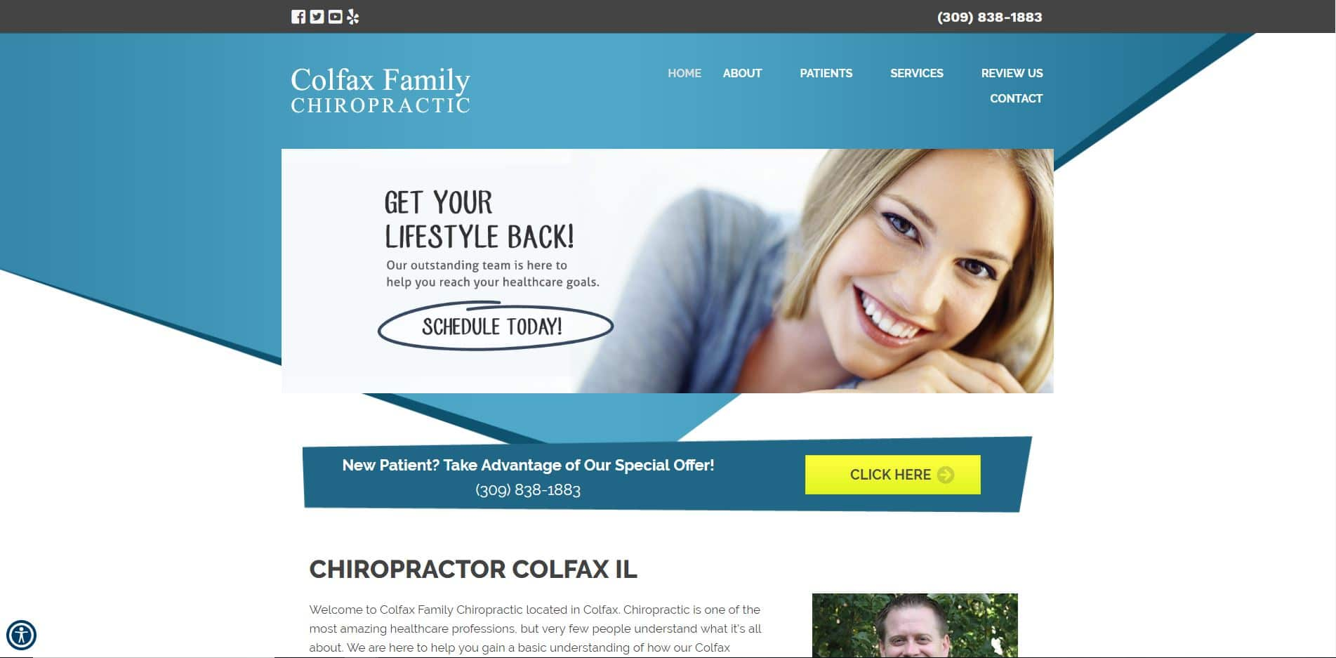 Chiropractor in Colfax