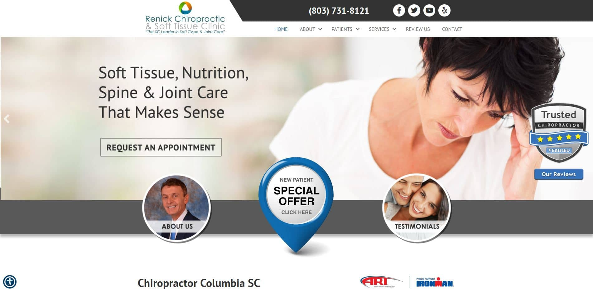 Chiropractor in Columbia