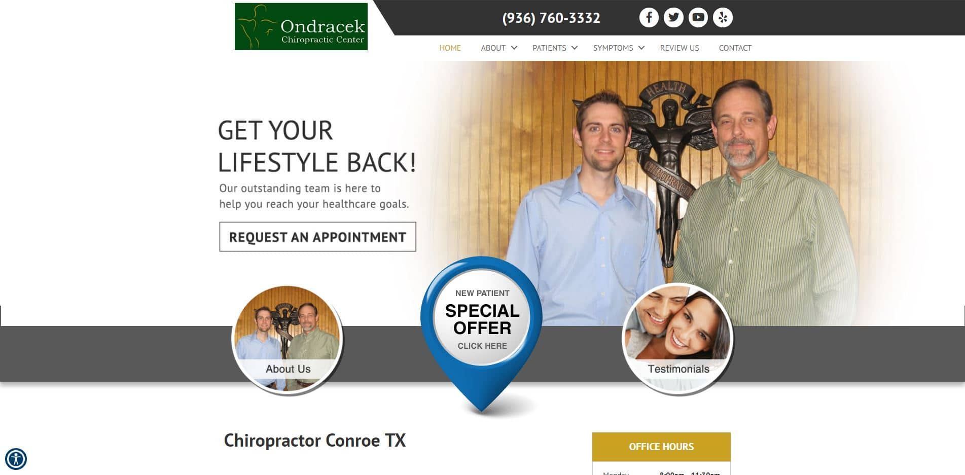 Chiropractor in Conroe