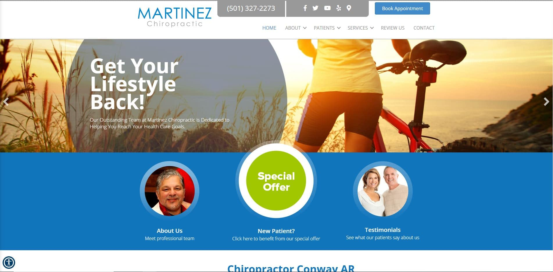 Chiropractor in Conway
