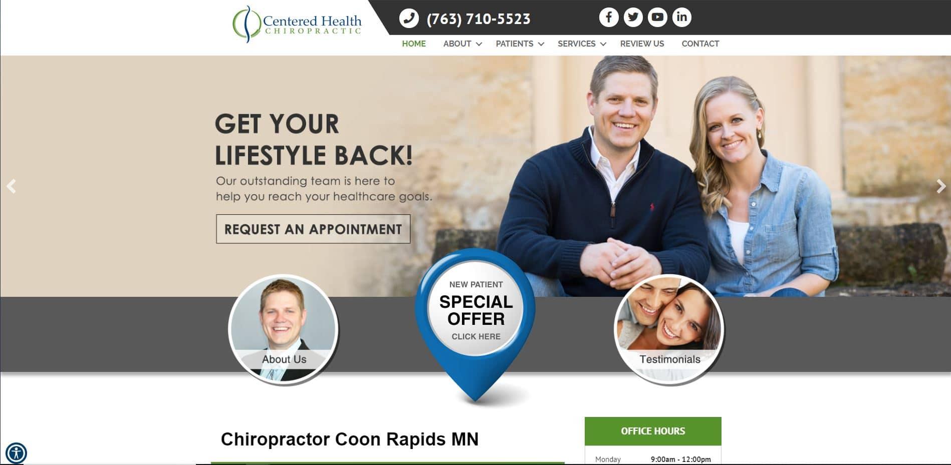Chiropractor in Coon Rapids