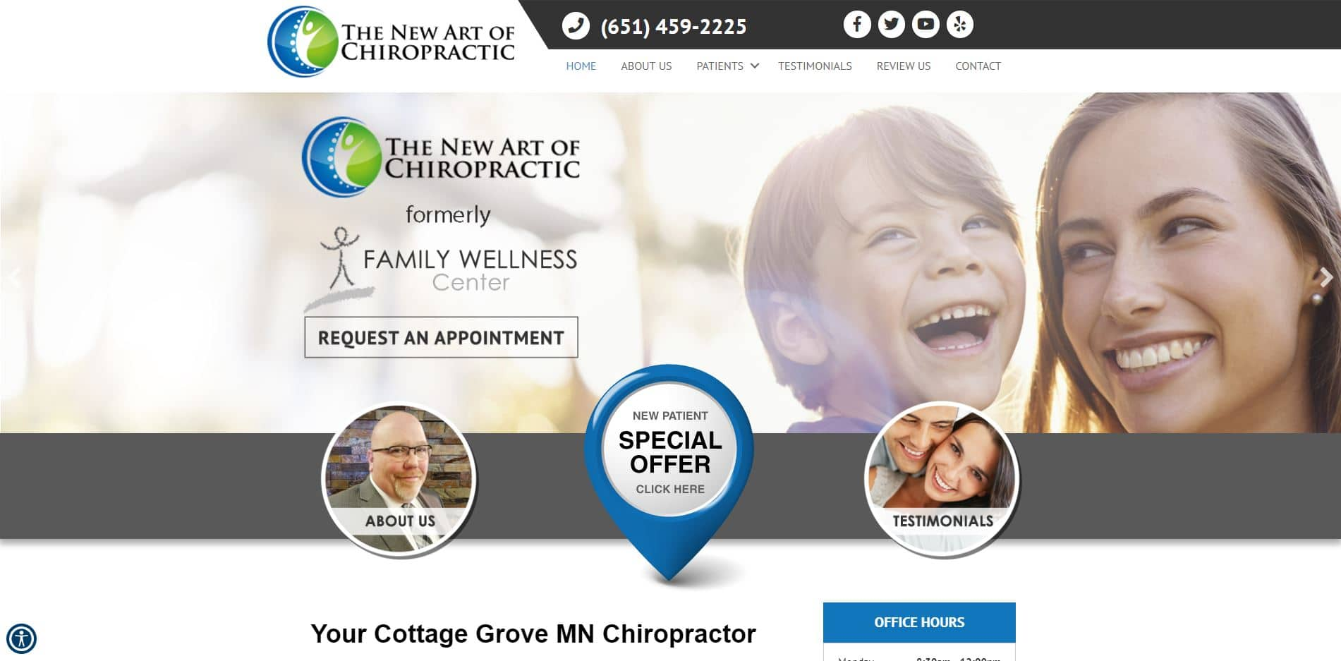 Chiropractor in Cottage Grove