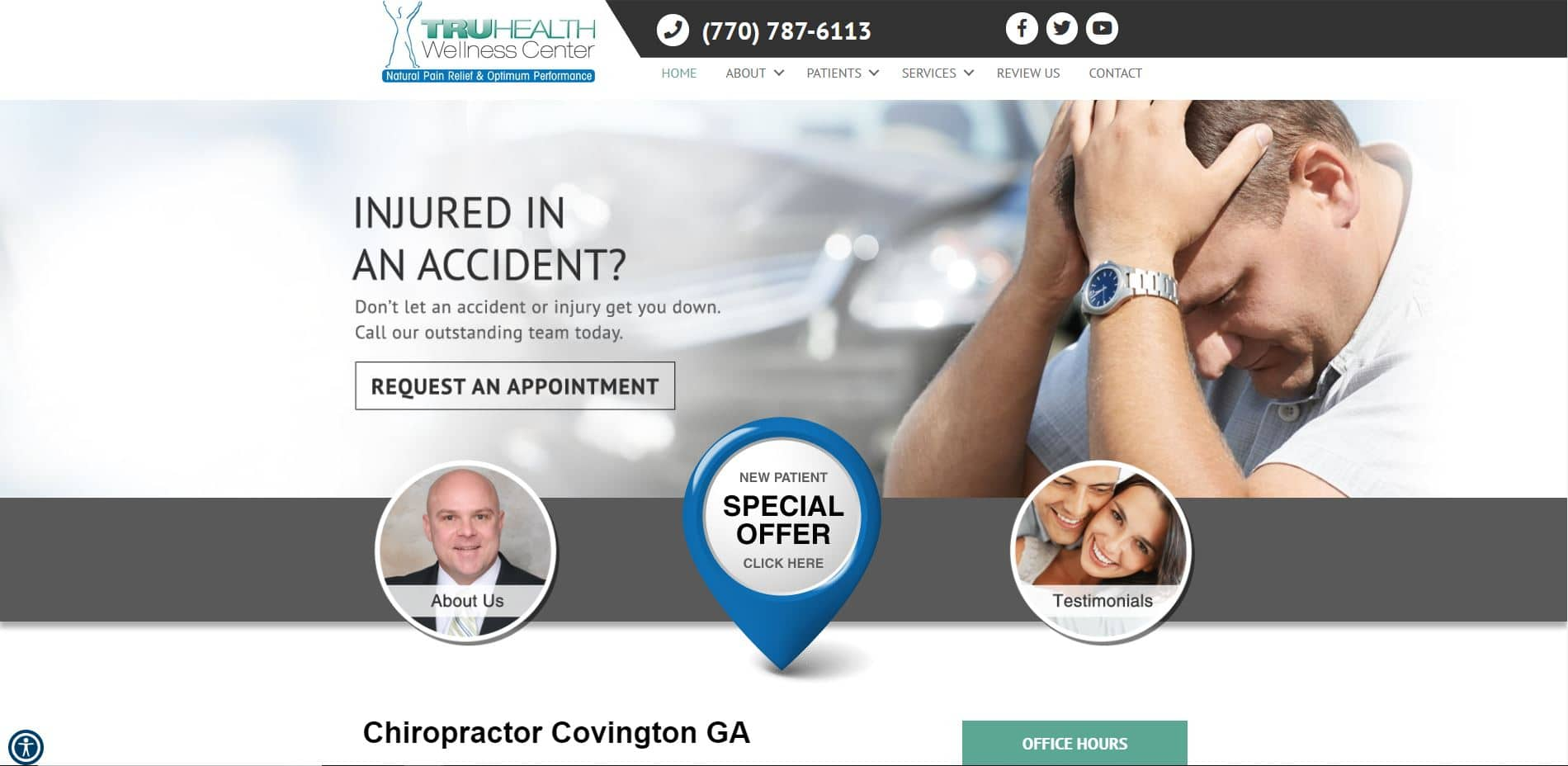 Chiropractor in Covington