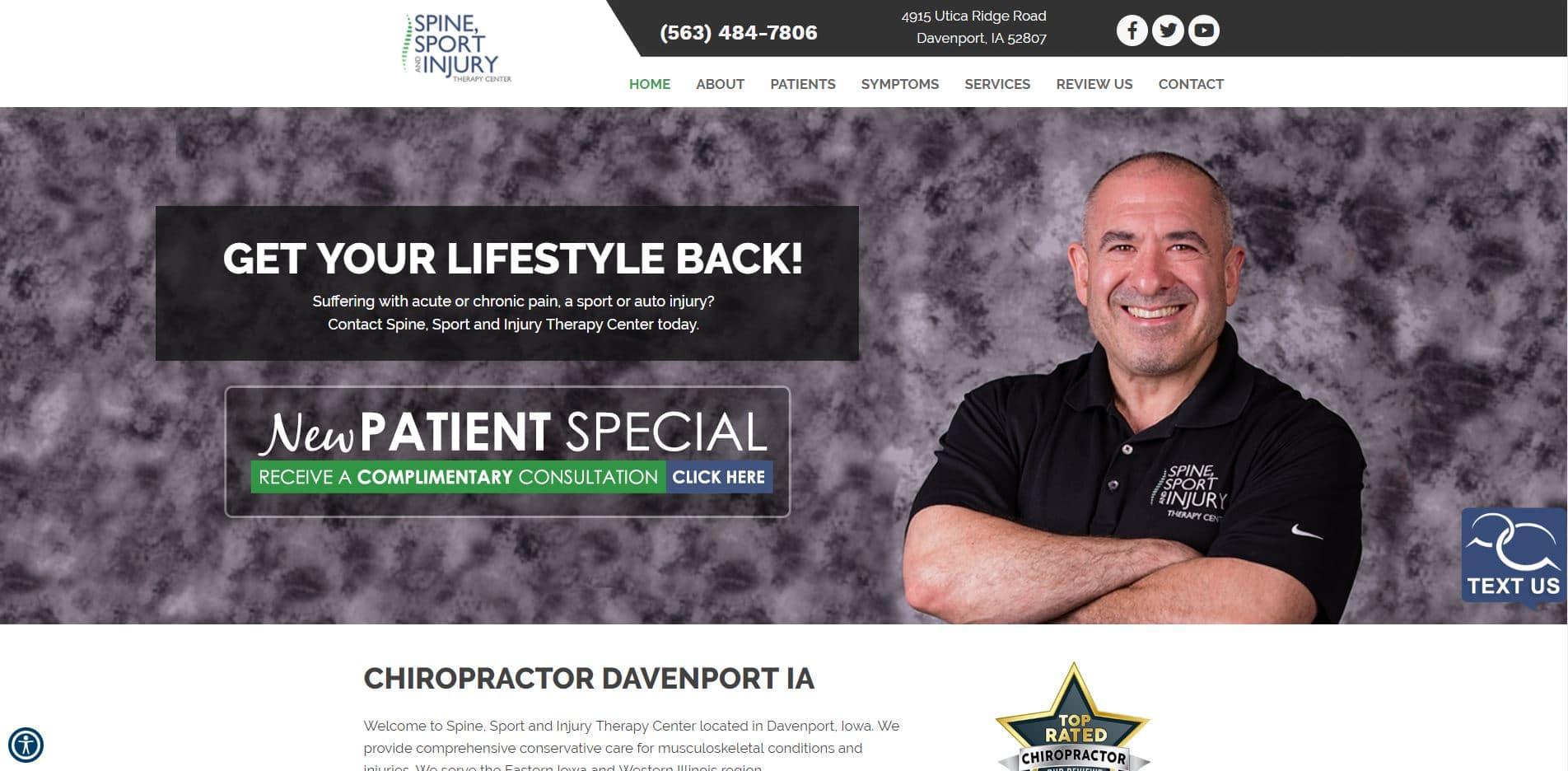 Chiropractor in Davenport