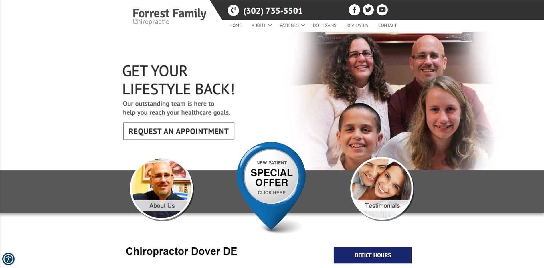 Chiropractor in Dover