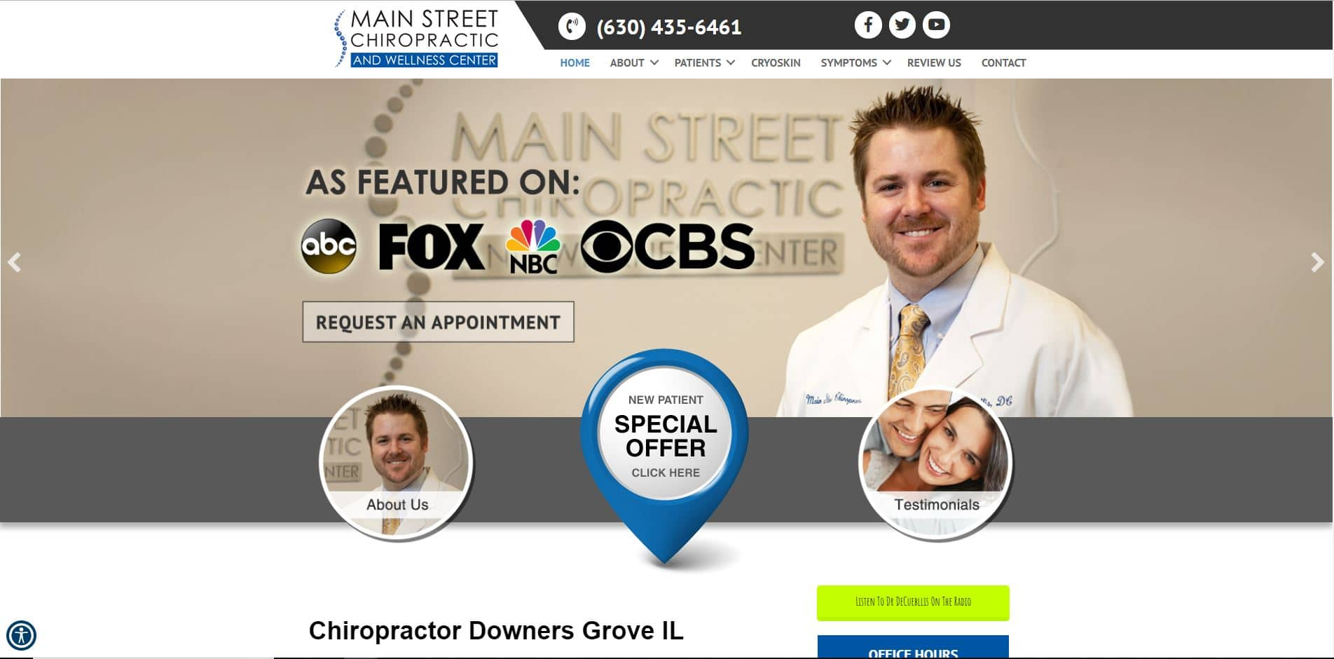 Chiropractor in Downers Grove