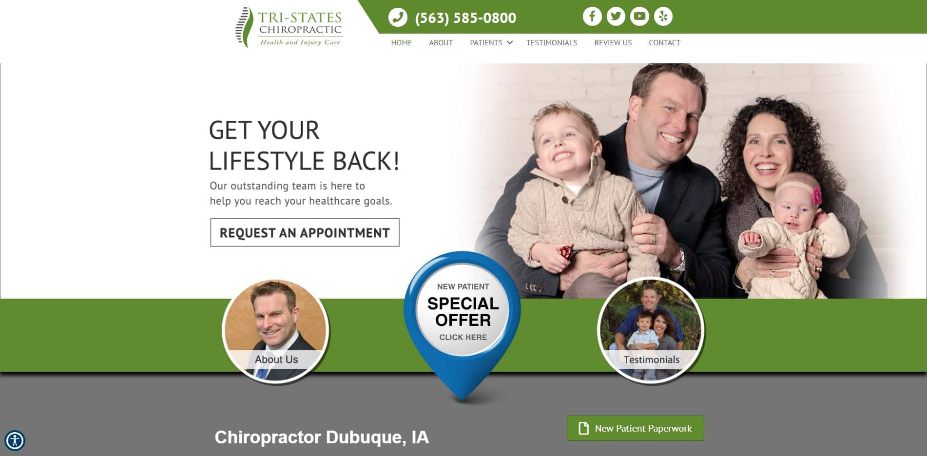 Chiropractor in Dubuque