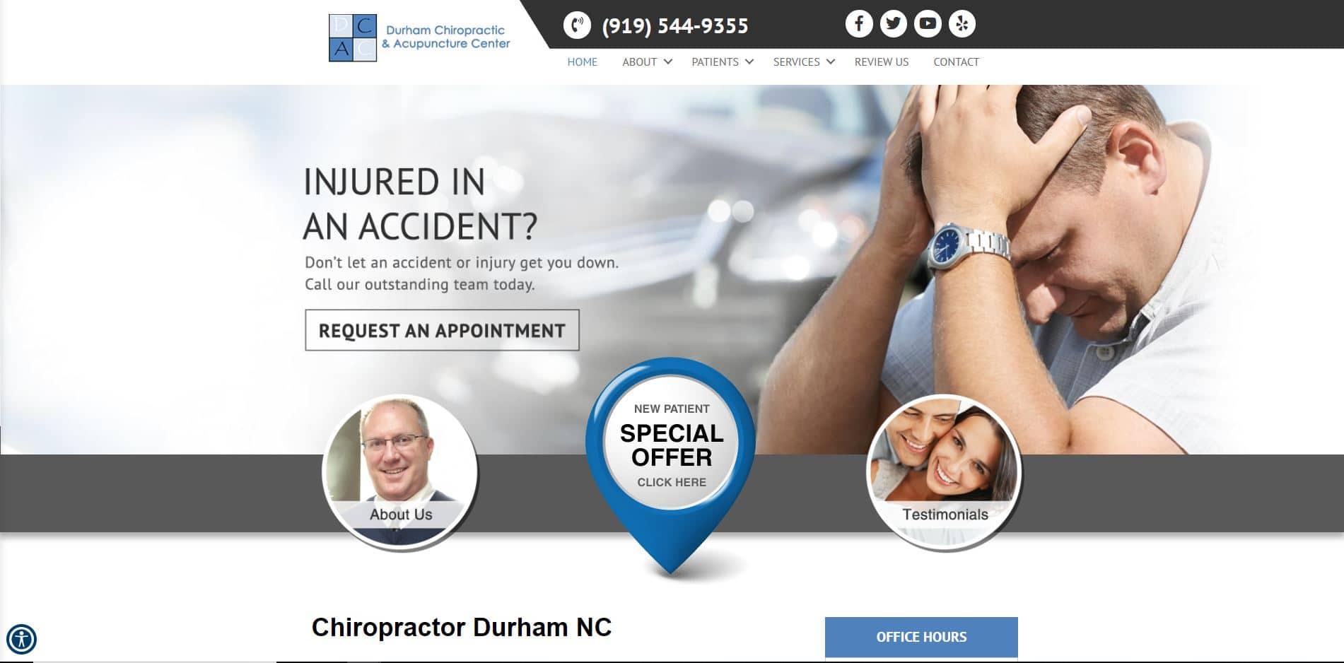 Chiropractor in Durham