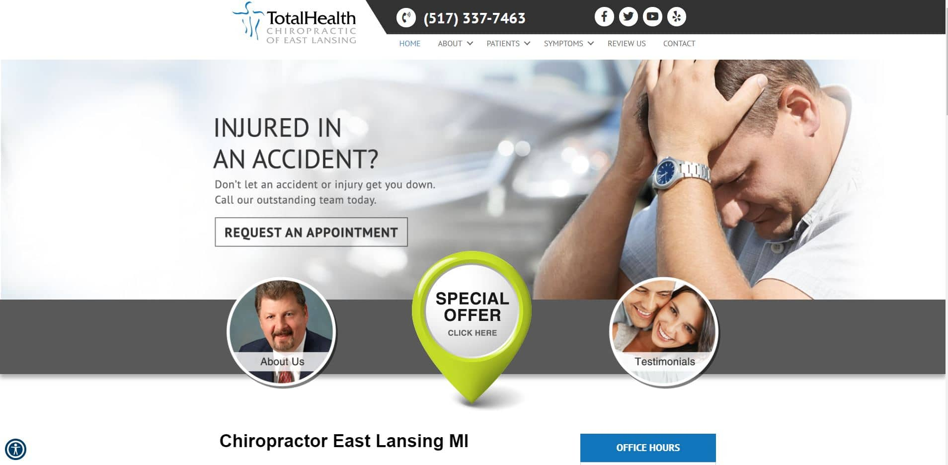 Chiropractor in East Lansing