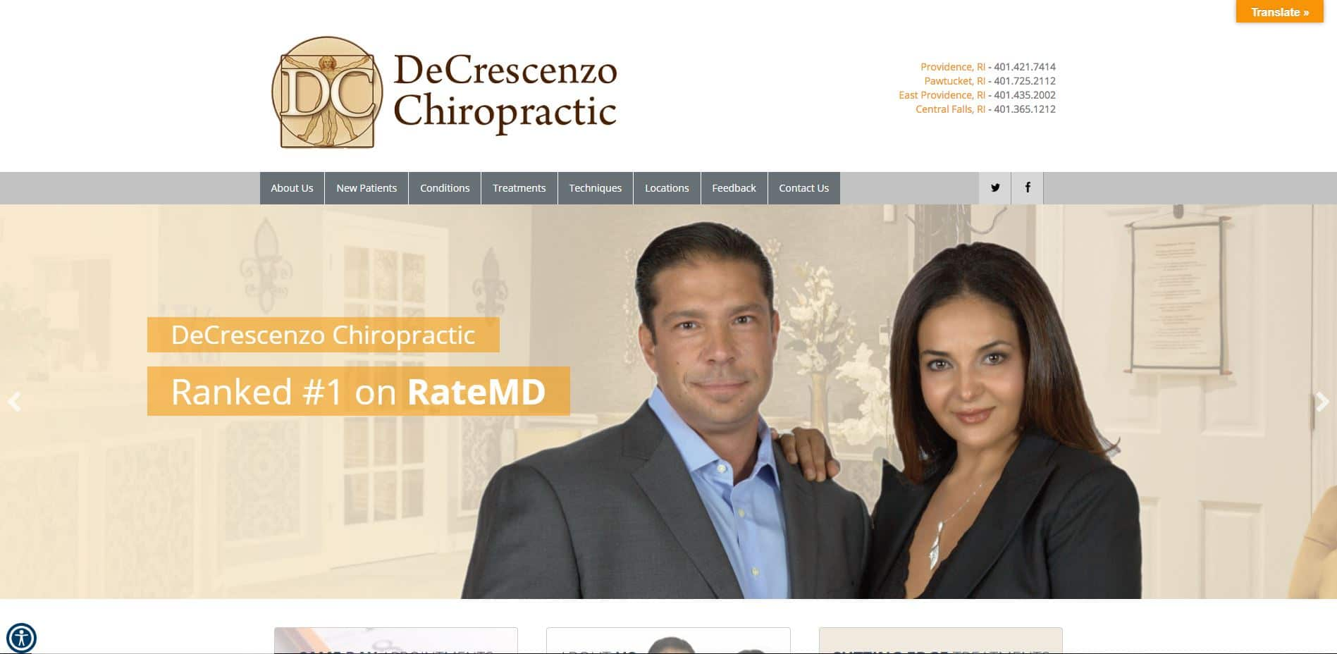 Chiropractor in East Providence