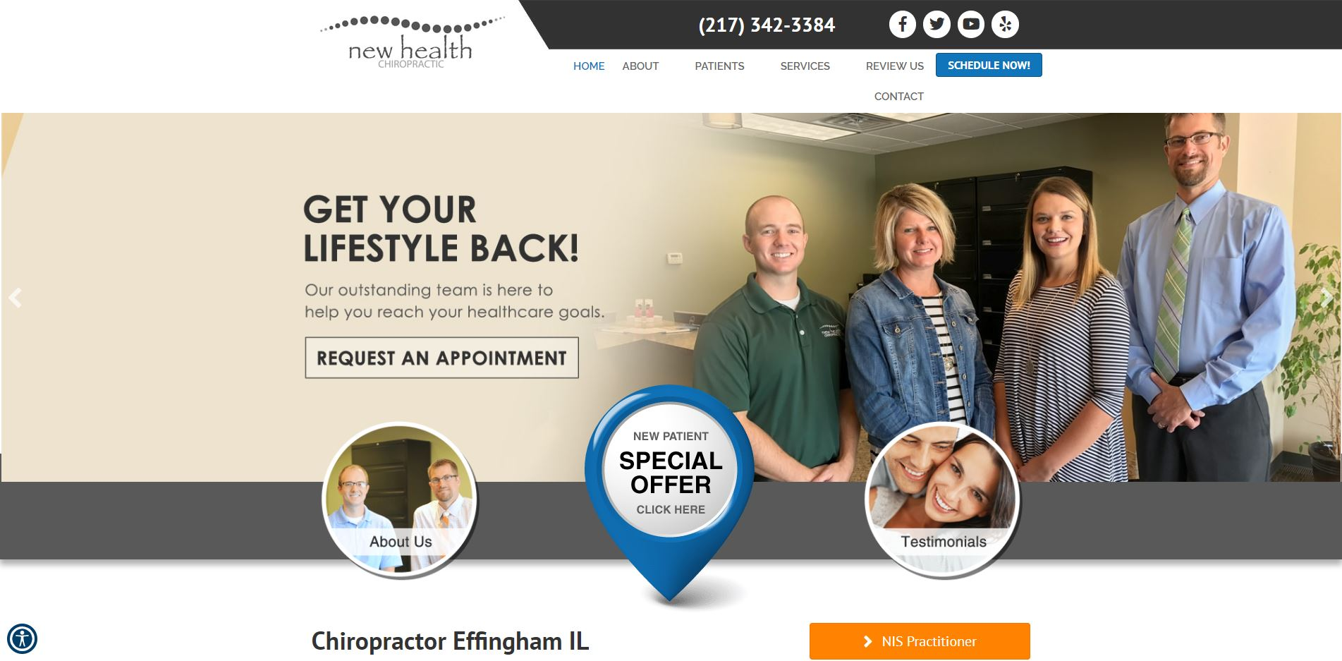 Chiropractor in Effingham