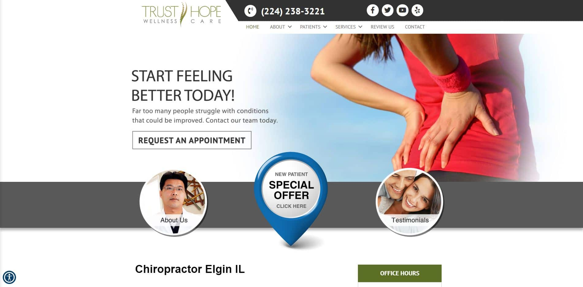 Chiropractor in Elgin