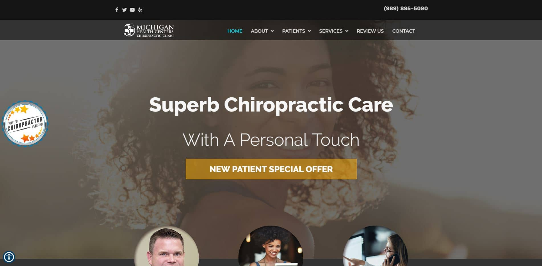 Chiropractor in Essexville