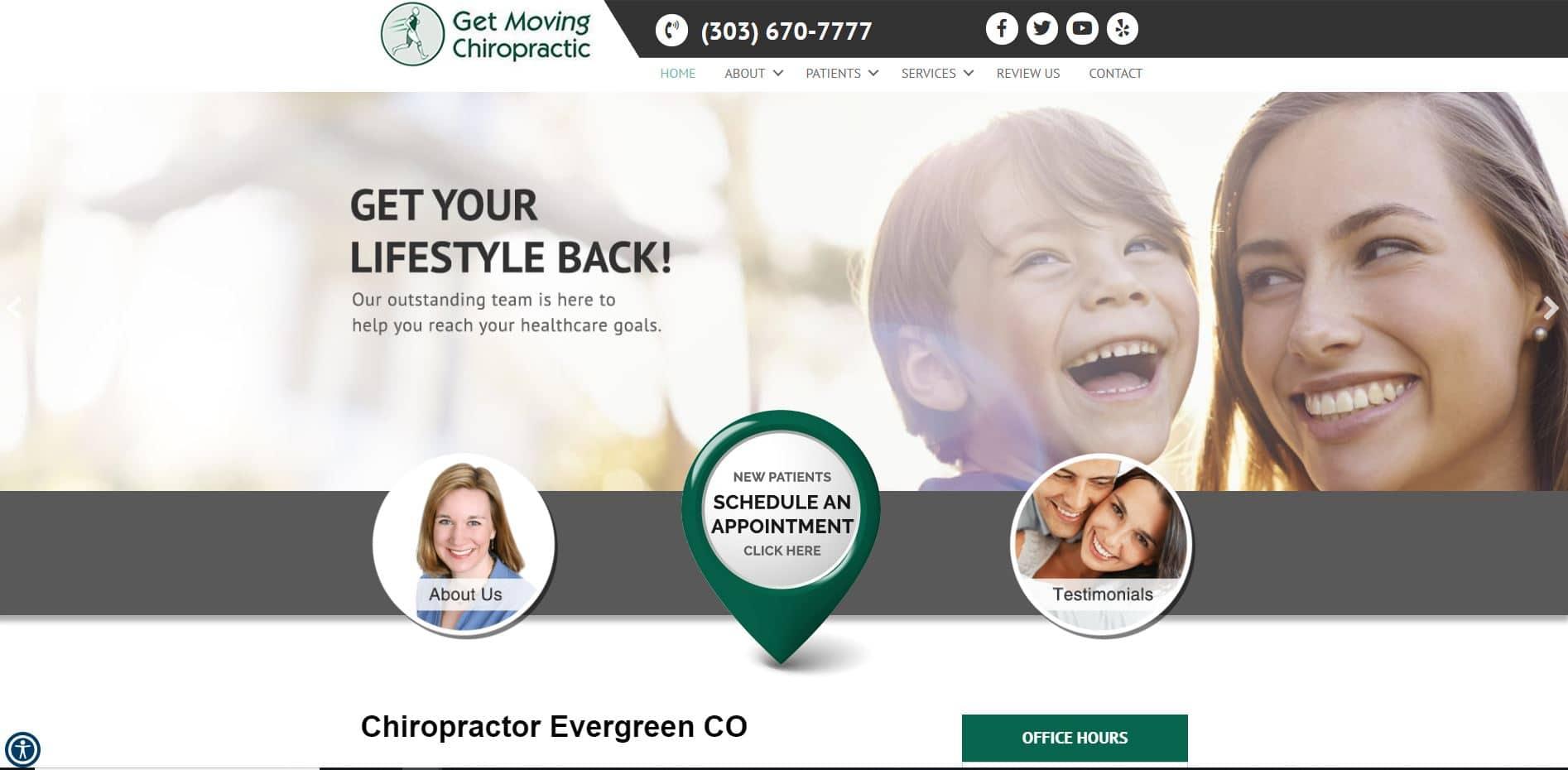 Chiropractor in Evergreen