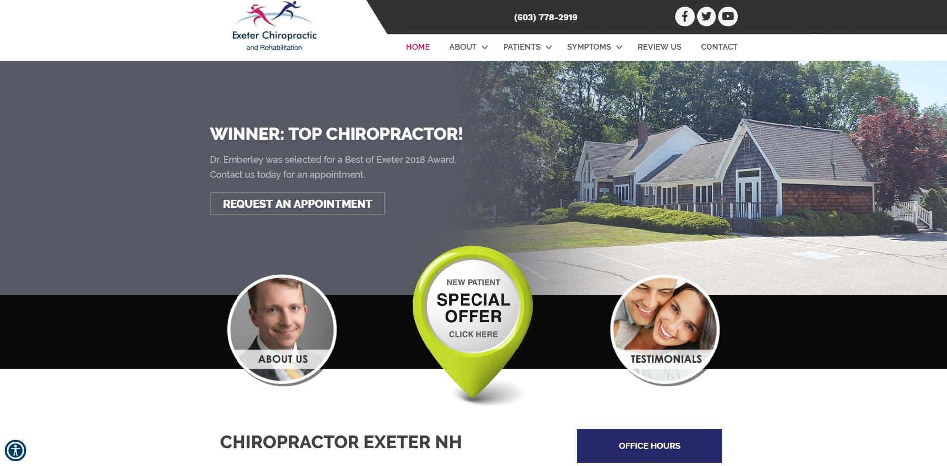 Chiropractor in Exeter