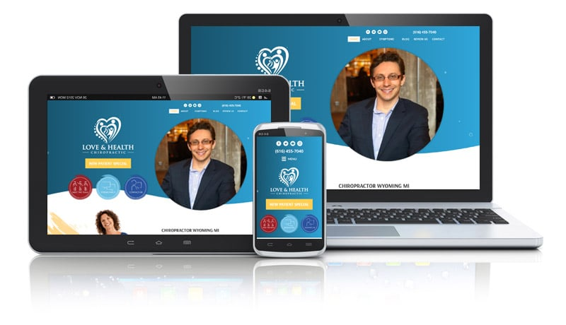 Website Design for Family Chiropractor