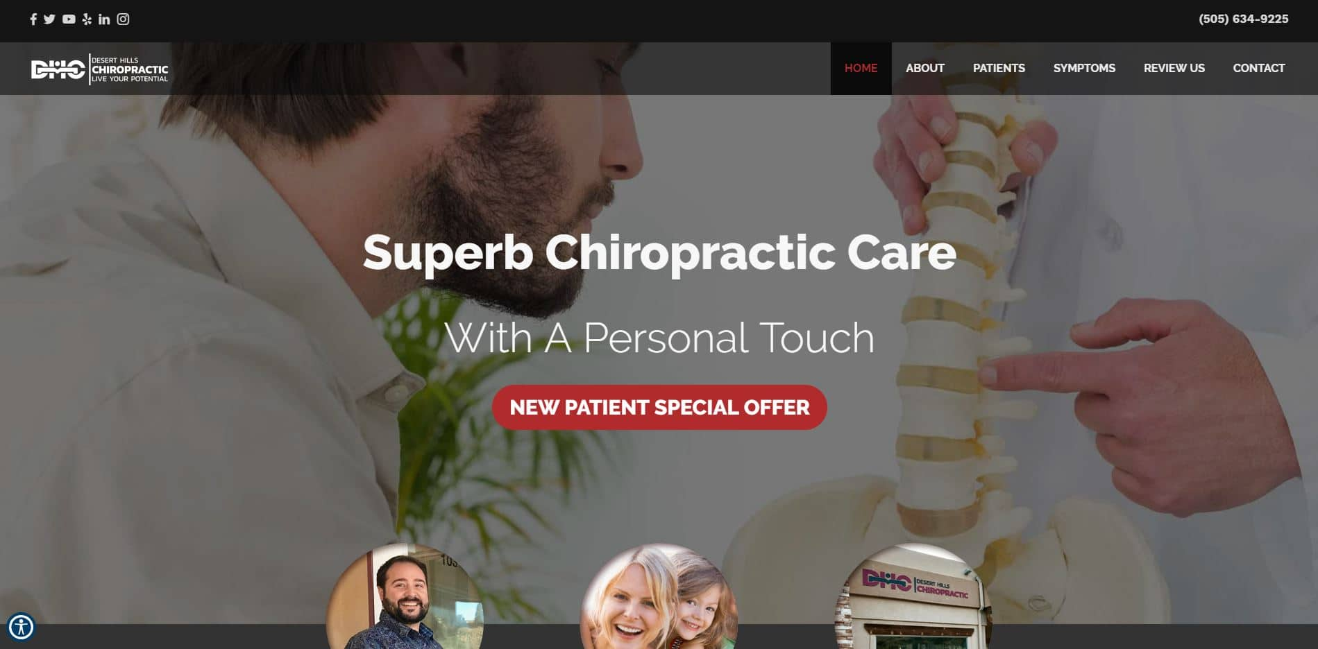Chiropractor in Farmington