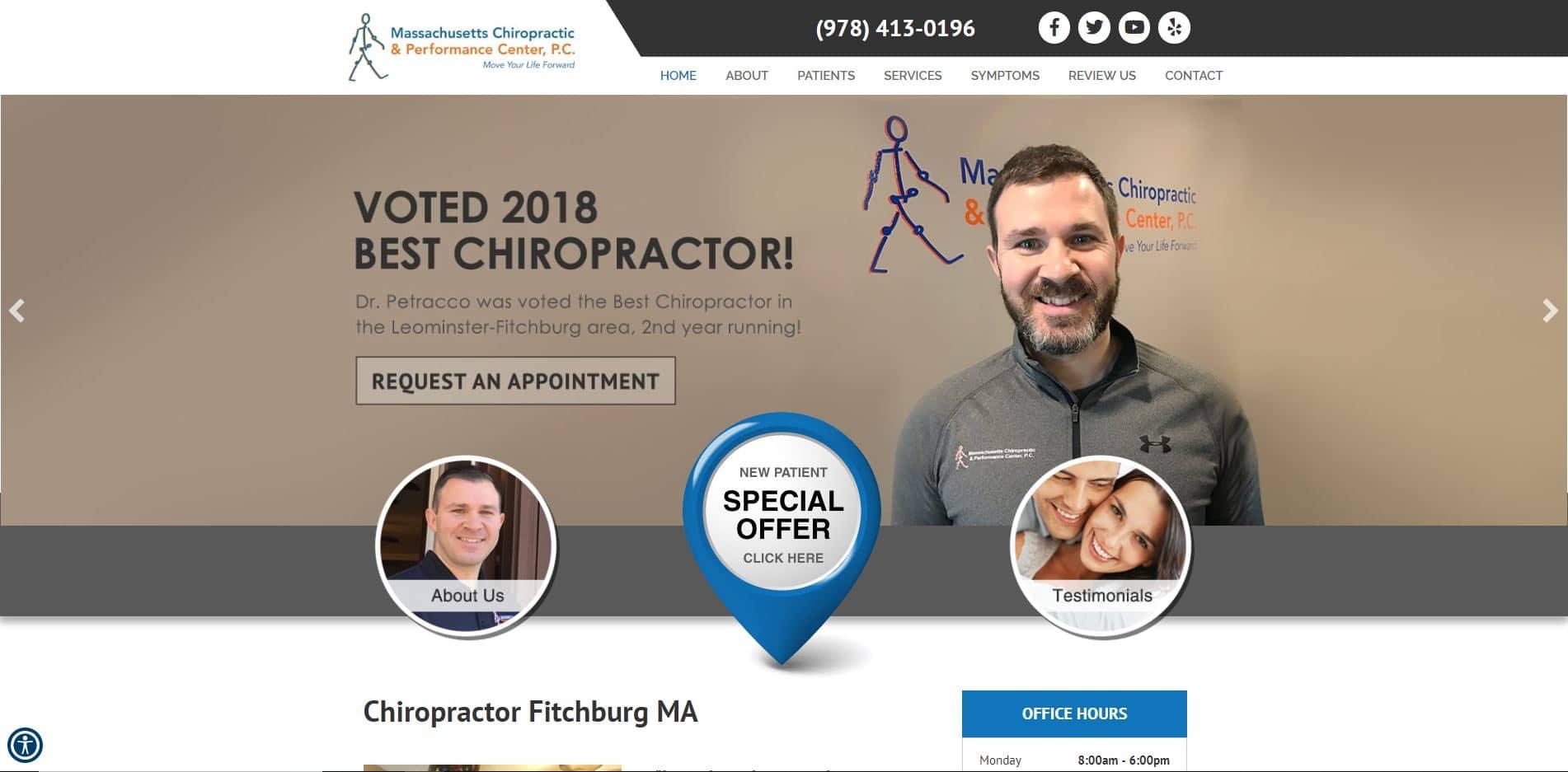 Chiropractor in Fitchburg