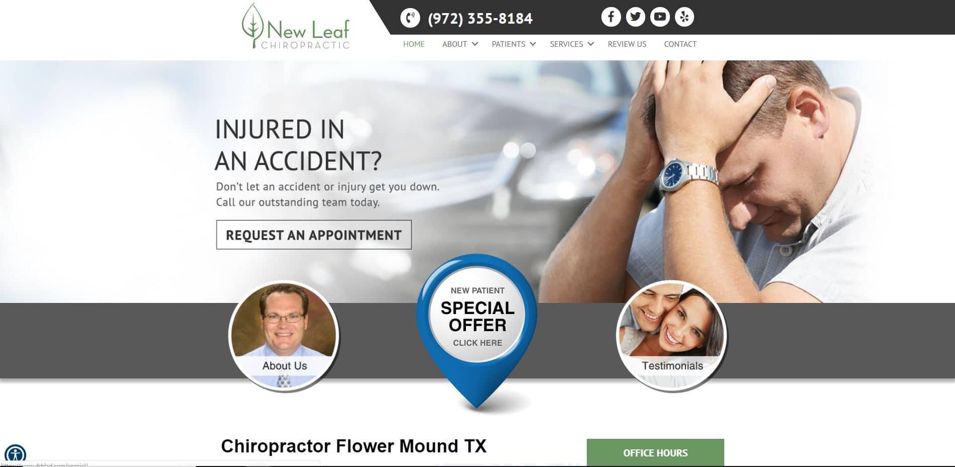 Chiropractor in Flower Mound
