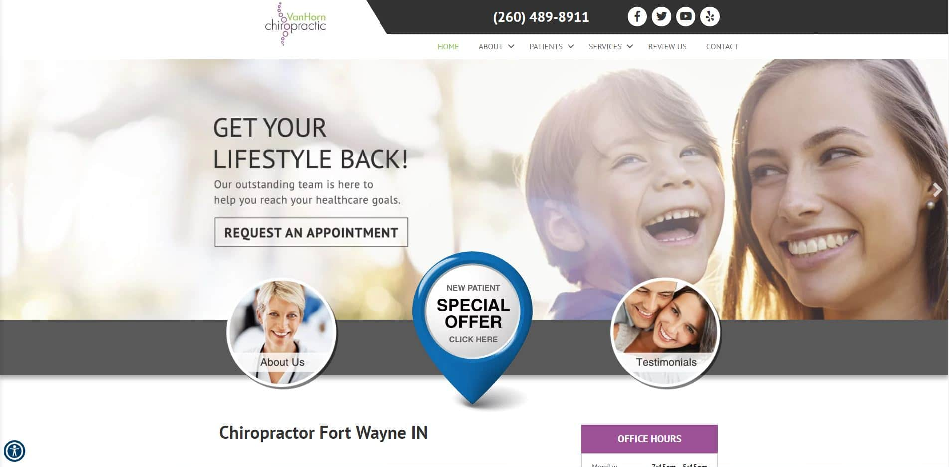 Chiropractor in Fort Wayne