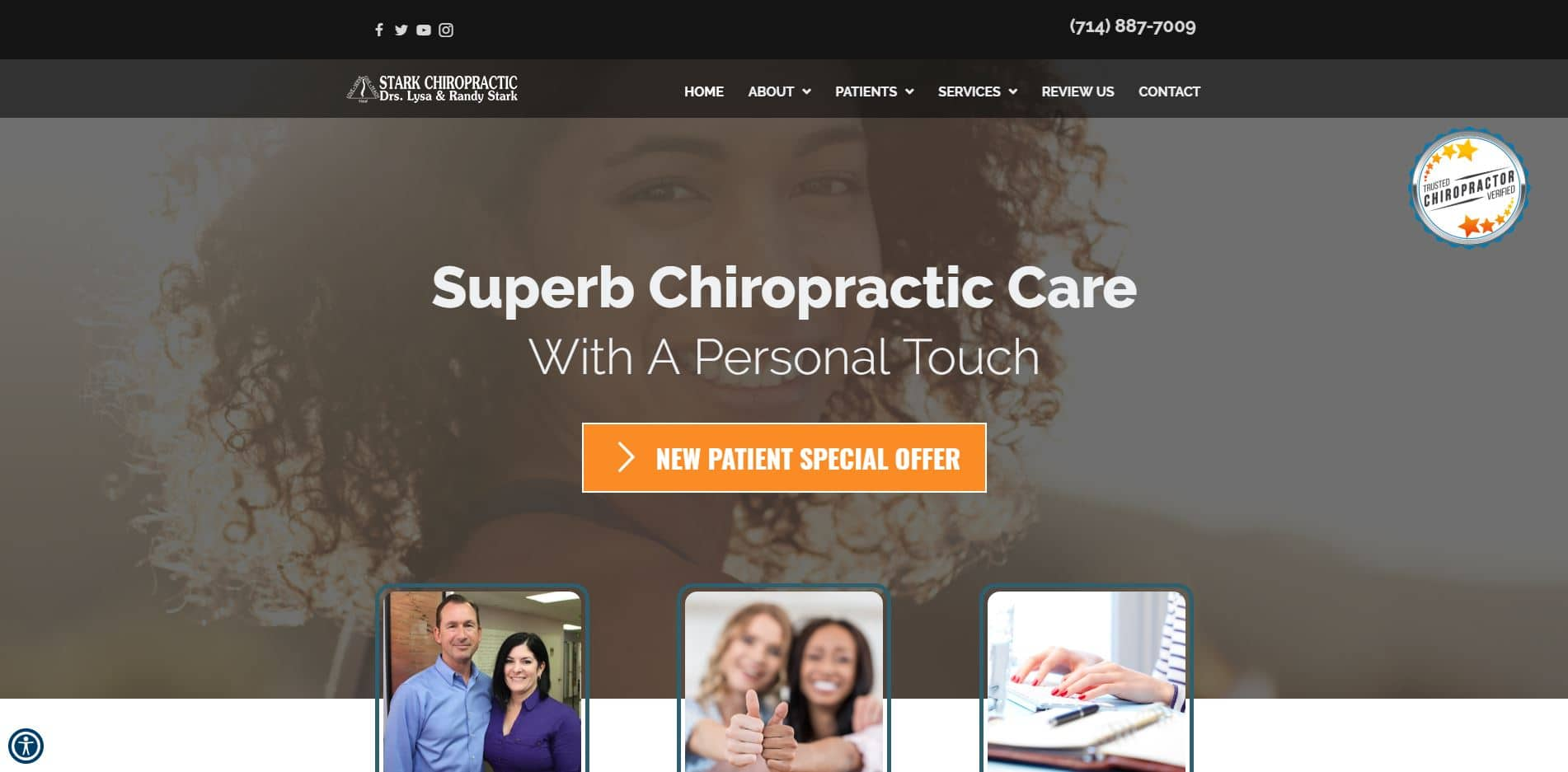 Chiropractor in Fountain Valley