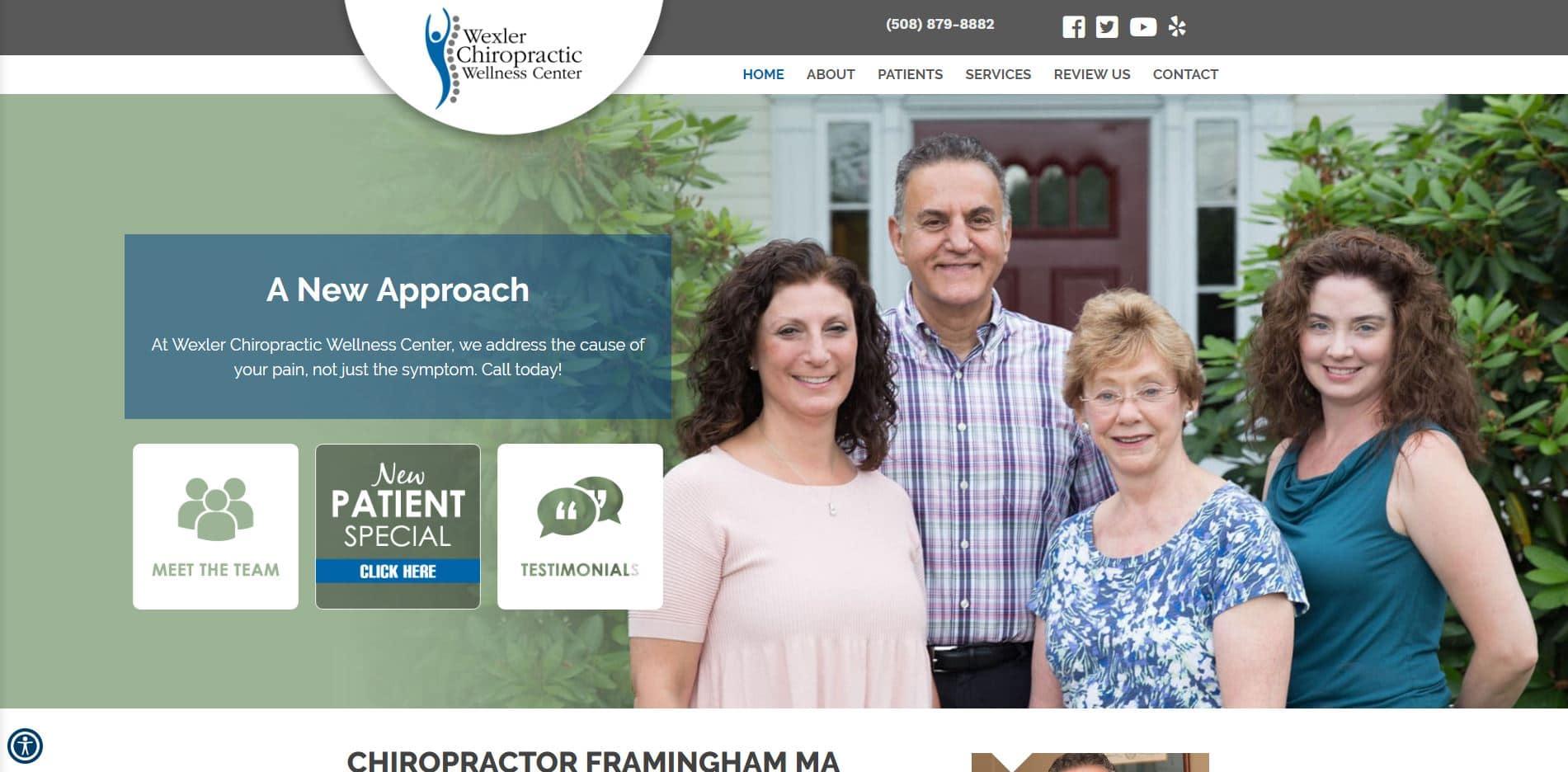 Chiropractor in Framingham