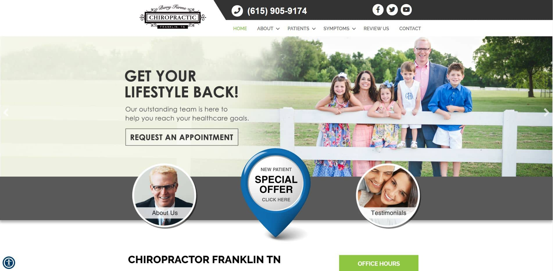 Chiropractor in Franklin