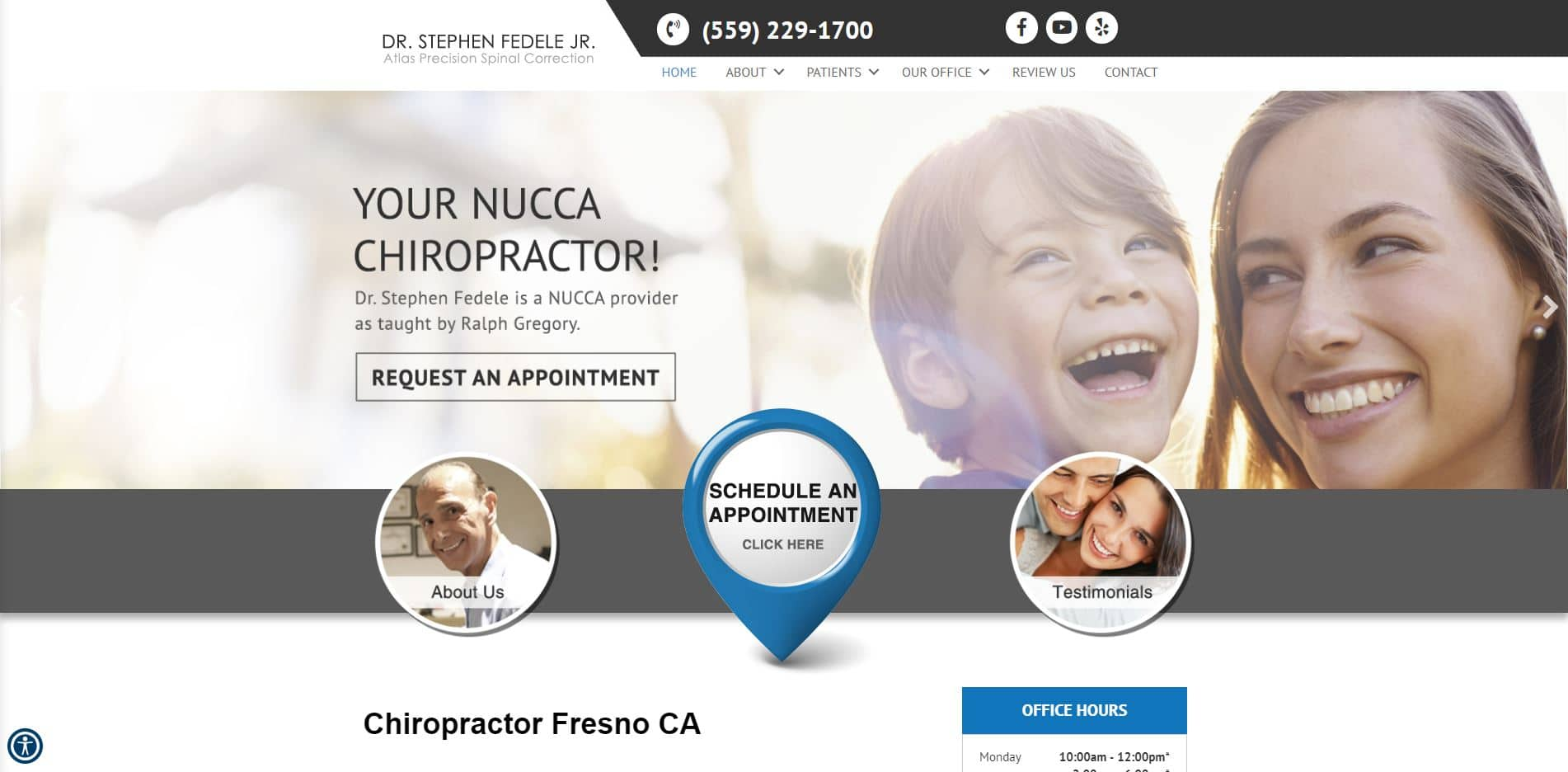 Chiropractor in Fresno