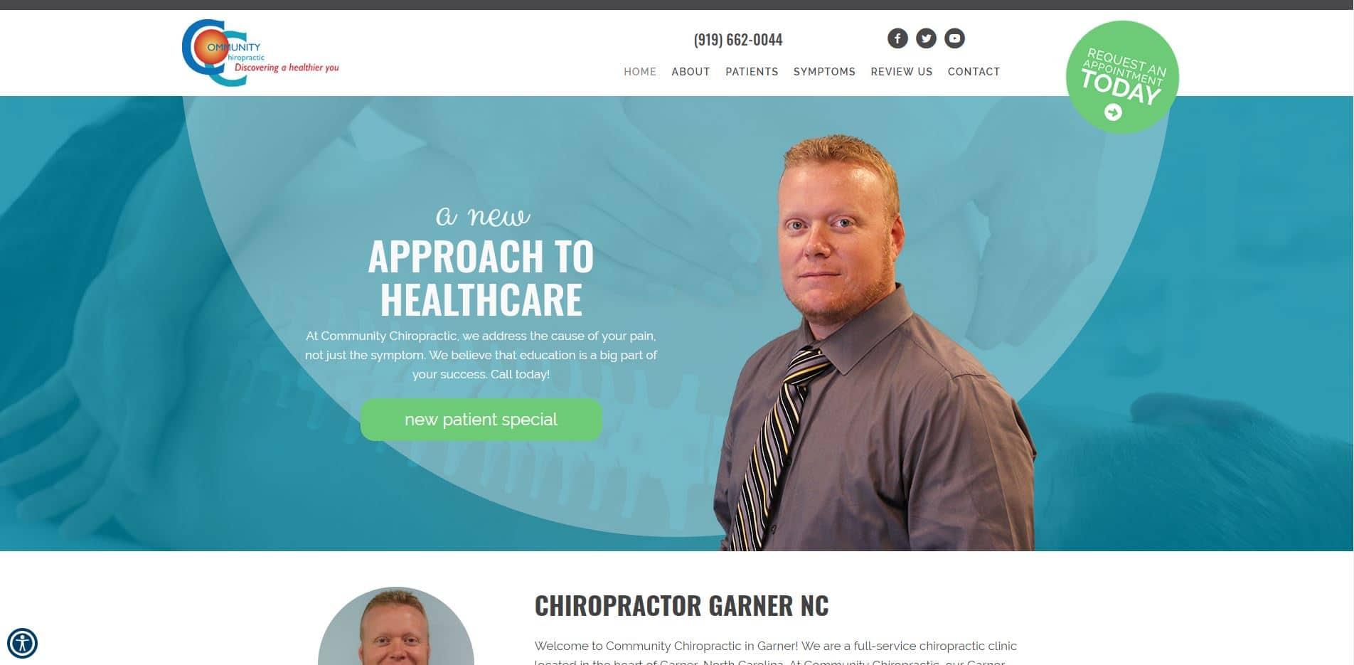 Chiropractor in Garner