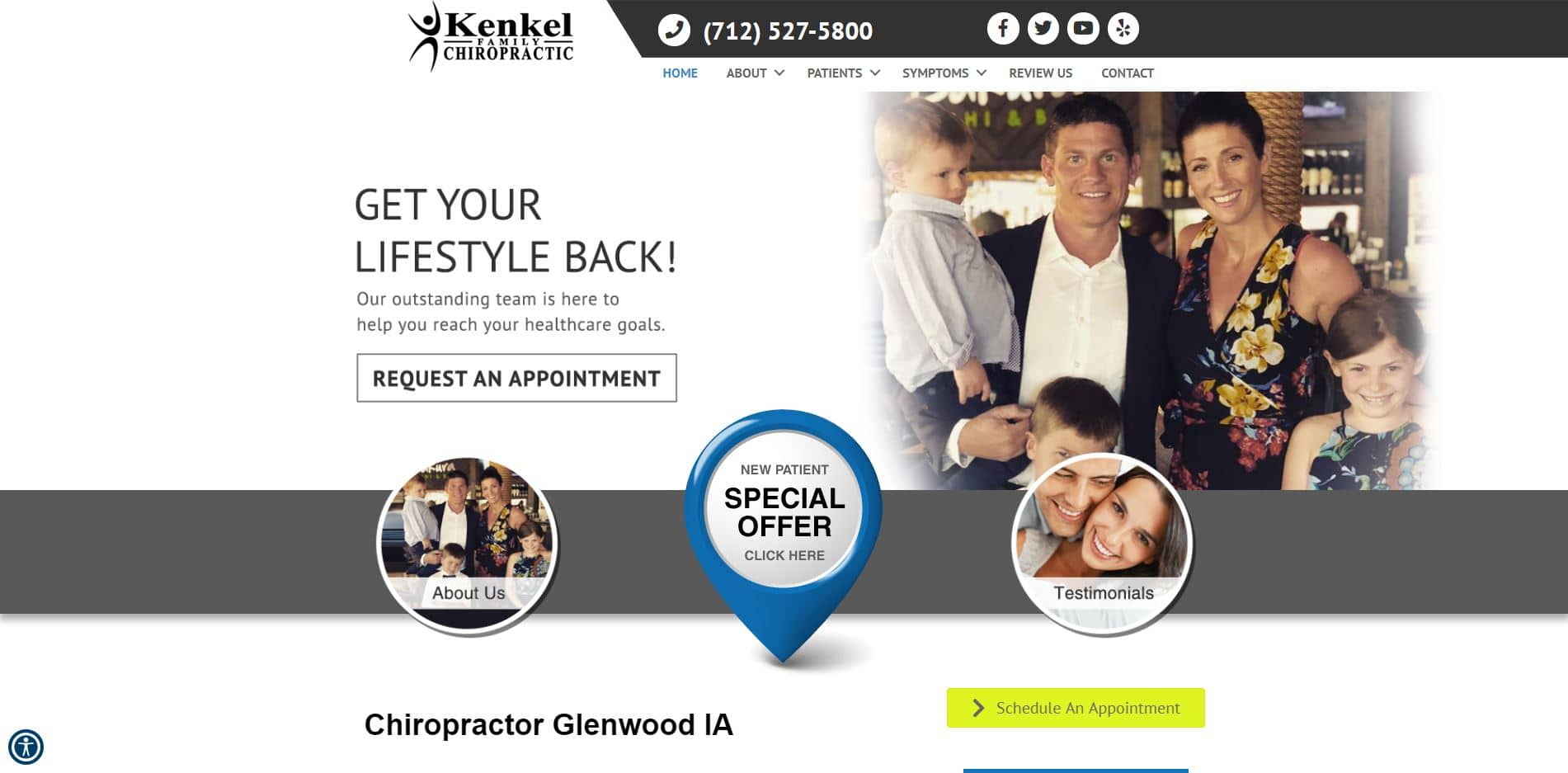 Chiropractor in Glenwood