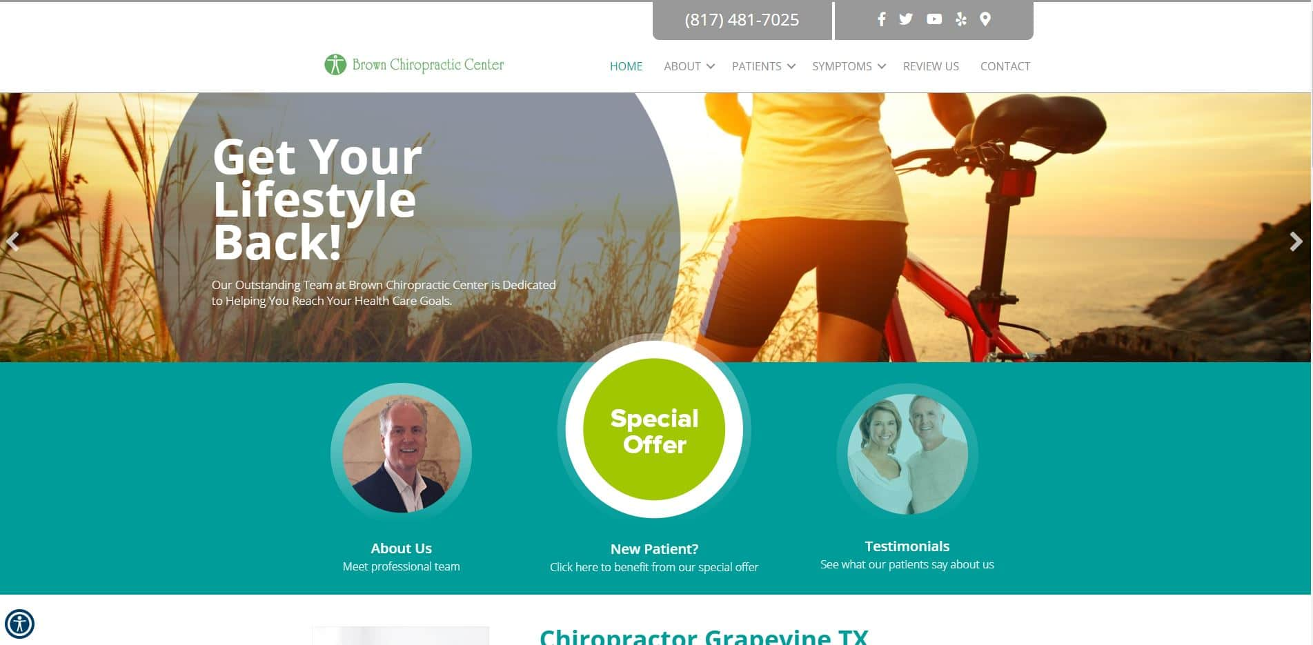 Chiropractor in Grapevine