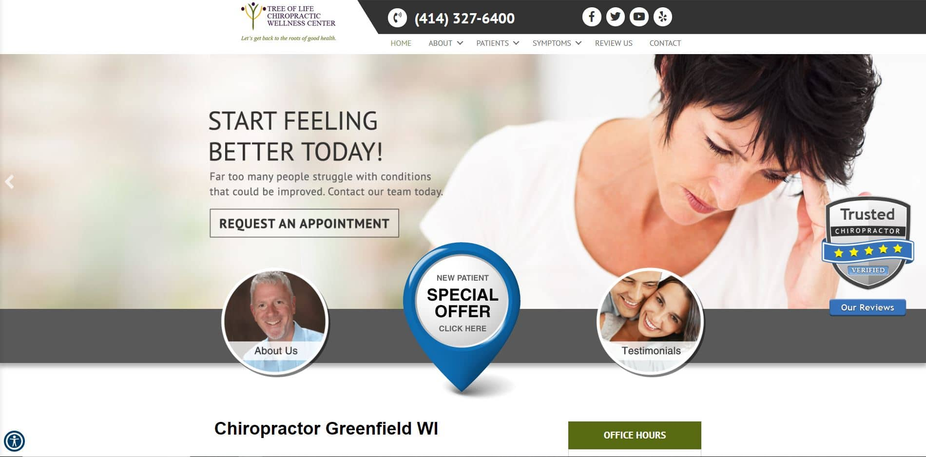 Chiropractor in Greenfield
