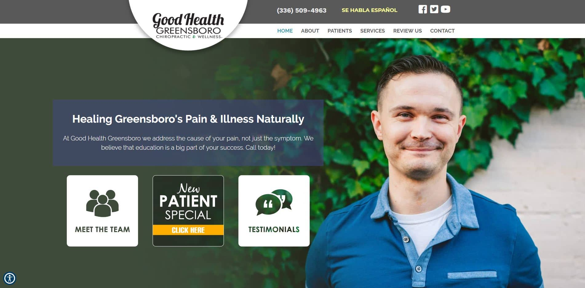 Chiropractor in Greensboro